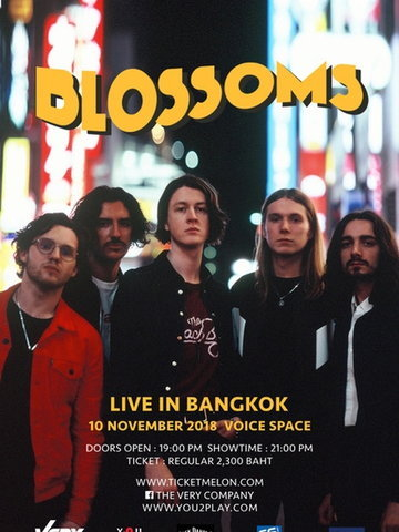 Blossoms Live in Bangkok
