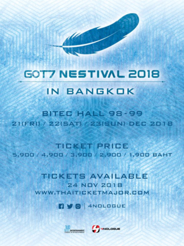 GOT7 NESTIVAL 2018 IN BANGKOK