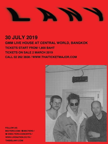LANY Malibu Nights World Tour in Bangkok