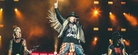 ห้ามพลาด Guns N' Roses จัดเต็ม!! ปลุกทุกโสตประสาทความมันส์!!