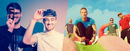 "The Chainsmokers ปะทะ Coldplay ส่งเพลงชวนโดด ""Something Just Like This"""