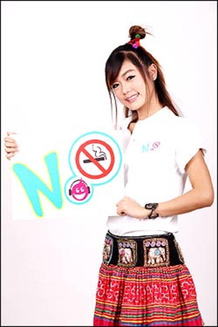 กระแต ควง มาริโอ้ พรีเซ็นเตอร์รณรงค์วันงดสูบบุหรี่