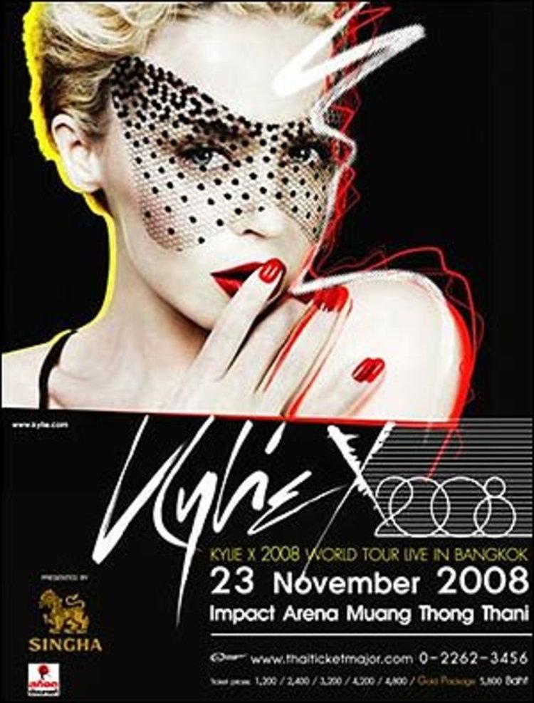 KYLIE X 2008 LIVE IN BANGKOK