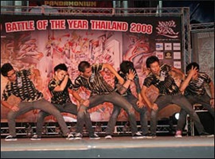 ค้นหาสุดยอด B-BOY เป็นตัวแทนเอเชียใน  BATTLE OF THE YEAR ASIA 2008