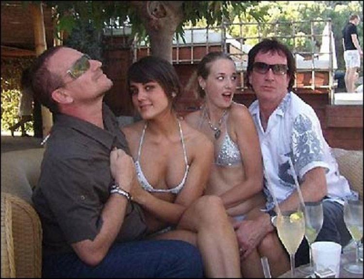 โบโน่ U2 ดีแตก! หลบเมียคว้าสาวคราวลูกดริงก์-แดนซ์ หน้าตาเฉย!
