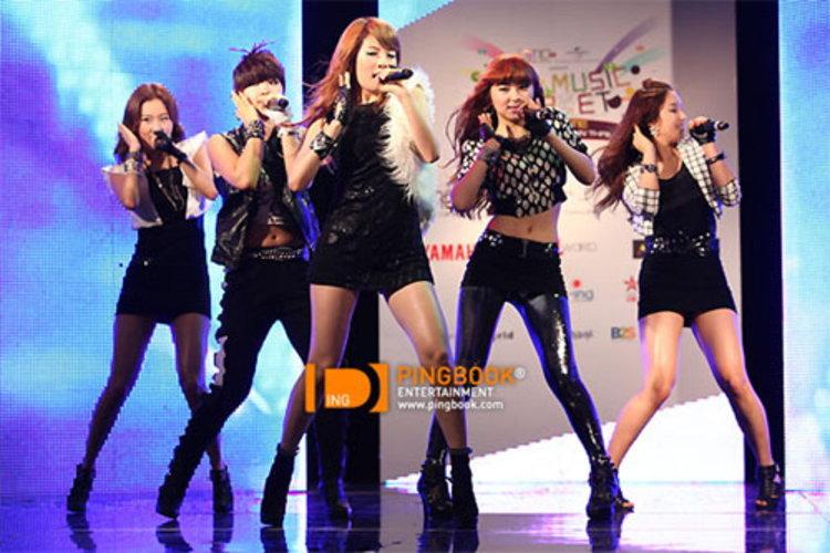 4minute  เปิดโชว์เคสพร้อมบรรยากาศสุดฮ็อตในงาน 4Minute The 1st Showcase In Thailand