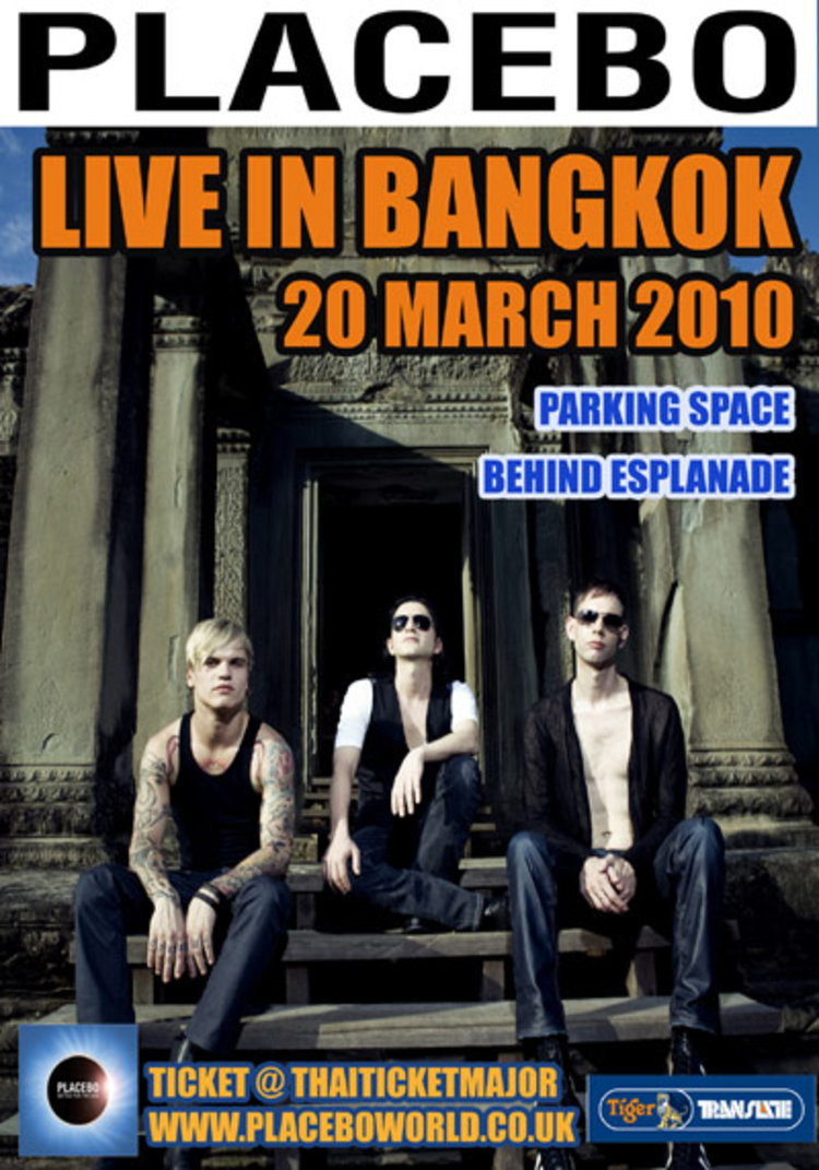 PLACEBO  LIVE IN BANGKOK MARCH 20