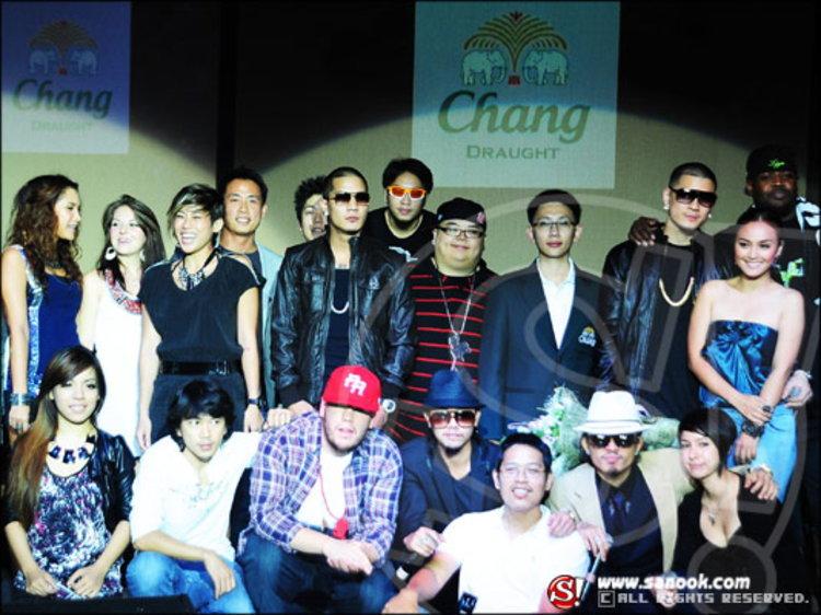 งานแถลงข่าวเปิดอัลบั้ม ฮิพฮอพตัวพ่อ วงไทยเทเนี่ยม!!