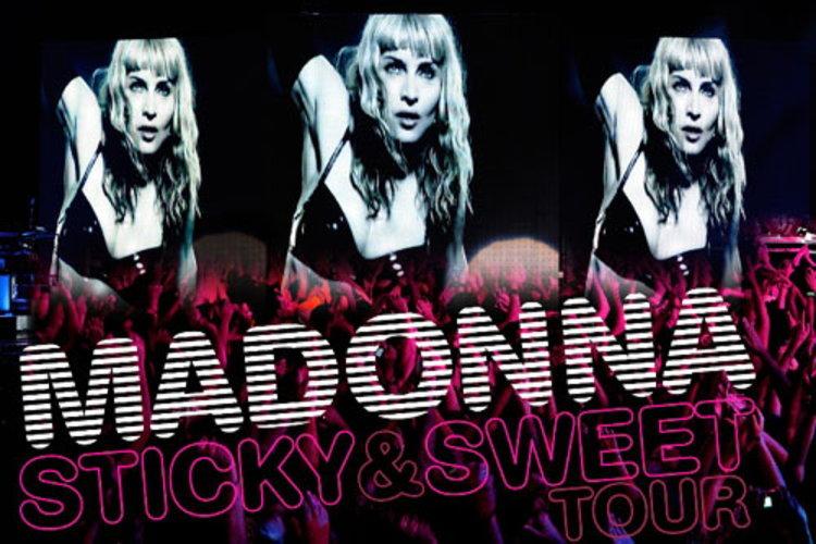 มาดอนน่า ออกอัลบั้มแสดงสดทัวร์คอนเสิร์ตครั้งล่าสุด Sticky & Sweet