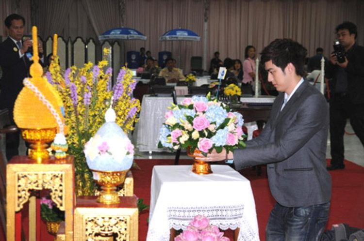 ฟิล์ม นำทีมRS ลงนามถวายพระพร ชวนคนไทย ส่งกำลังใจ ถวายพ่อหลวง
