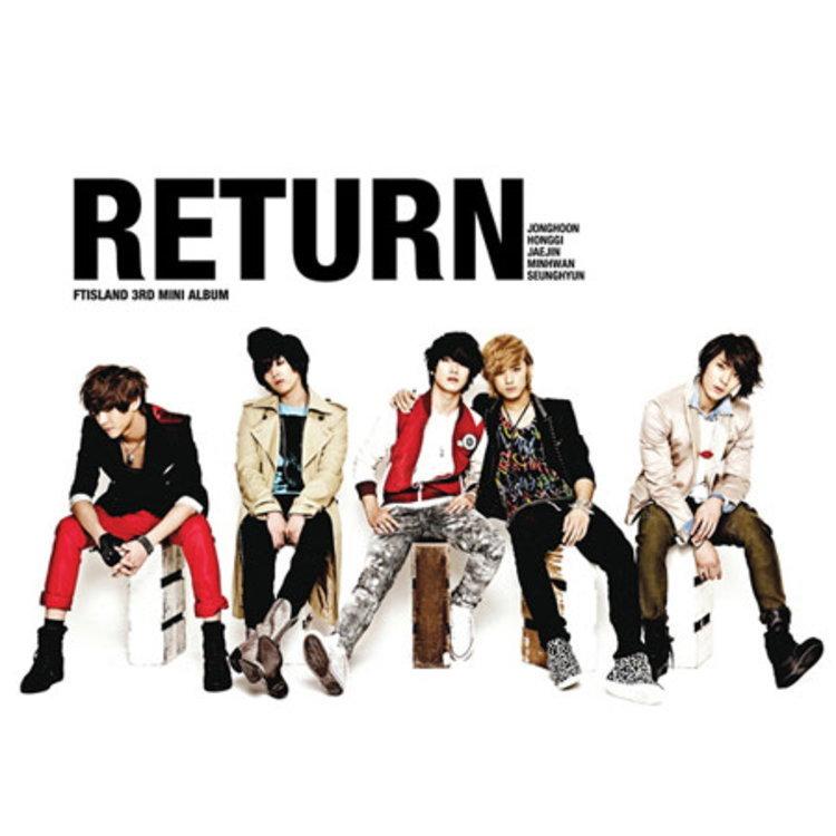 FTIsland เตรียมปล่อยมินิอัลบั้ม RETURN วงการเพลงเกาหลี