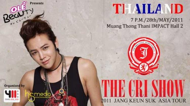 Ole Beauty Presents 2011 Jang Keun Suk Asia Tour The Cri Show in Thailand