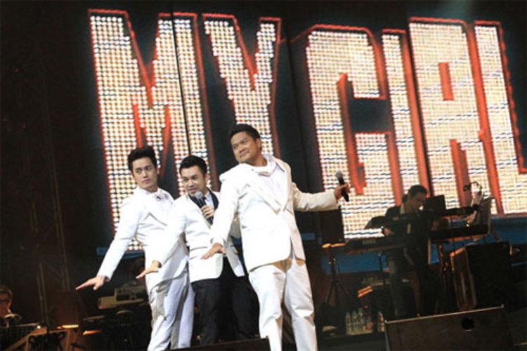 ป๊อด-เบน-อ๊อฟ โชว์ถึงกึ๋นถึงอารมณ์ Three Men and The Big Band Concert