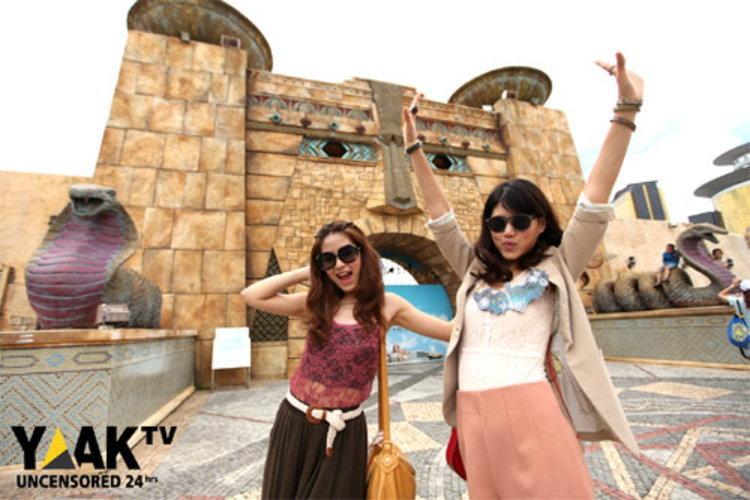 เฟย์-ฟาง รับหน้าที่ไกด์เฉพาะกิจ เปิดโลกกว้าง ฮ่องกง-มาเก๊า