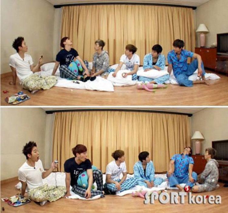 มาดูปาร์ตี้ชุดนอนของหนุ่มๆ 2PM