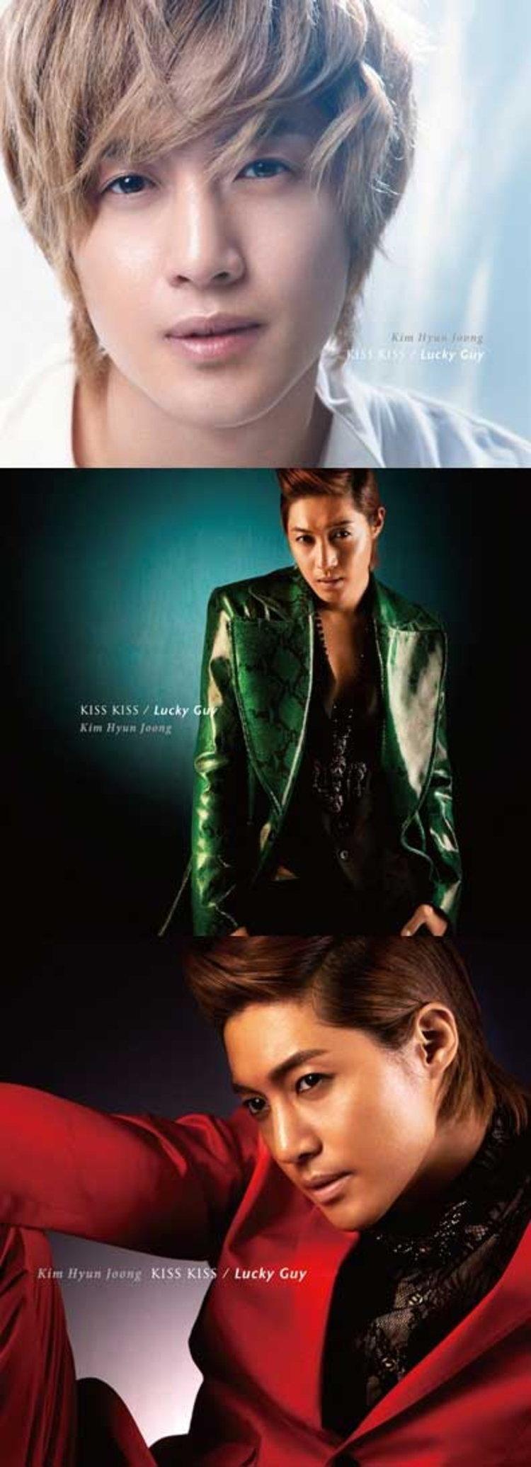 คิมฮยอนจุง (Kim Hyun Joong) เผยภาพแจ็คเก็ตอัลบั้มเดบิวในญี่ปุ่น