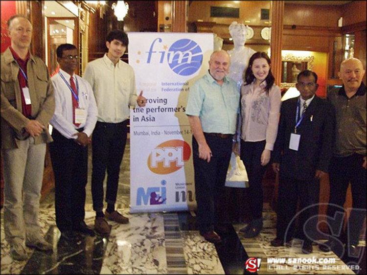 ณัฏฐ์ เดชะปัญญา ตัวแทนศิลปินไทย ร่วมประชุม FIM
