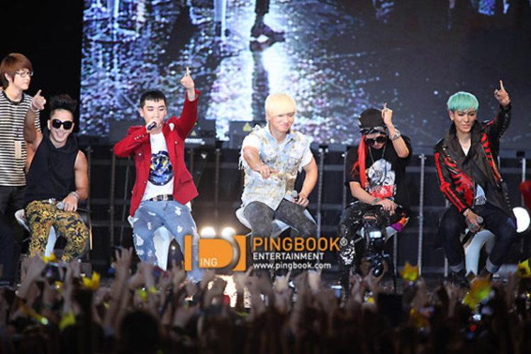 บิ๊กแบง (BIGBANG) หวังลัดฟ้าเปิดฉากคอนฯ ALIVE TOUR 2012 ในเมืองไทย