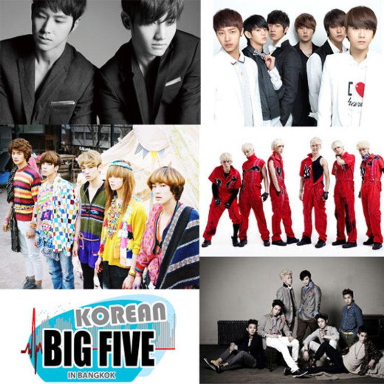 กระแสตอบรับล้นหลาม Korean Big 5 in Bangkok