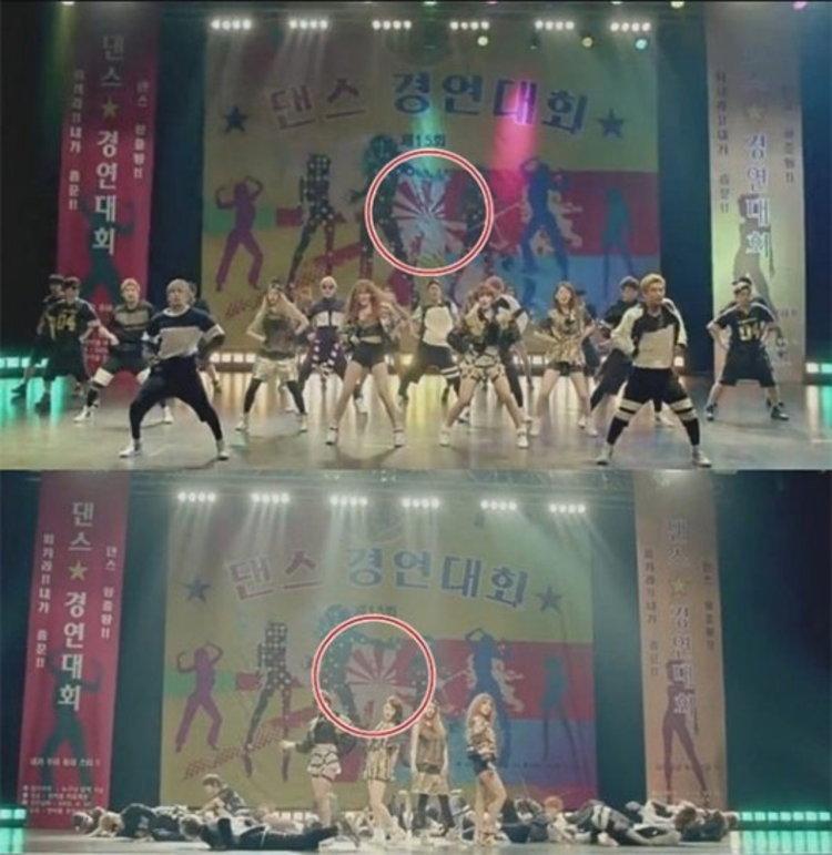 คราวซวย งานเข้า T-ara โดนจวกใช้ธงสัญลักษณ์ญี่ปุ่น