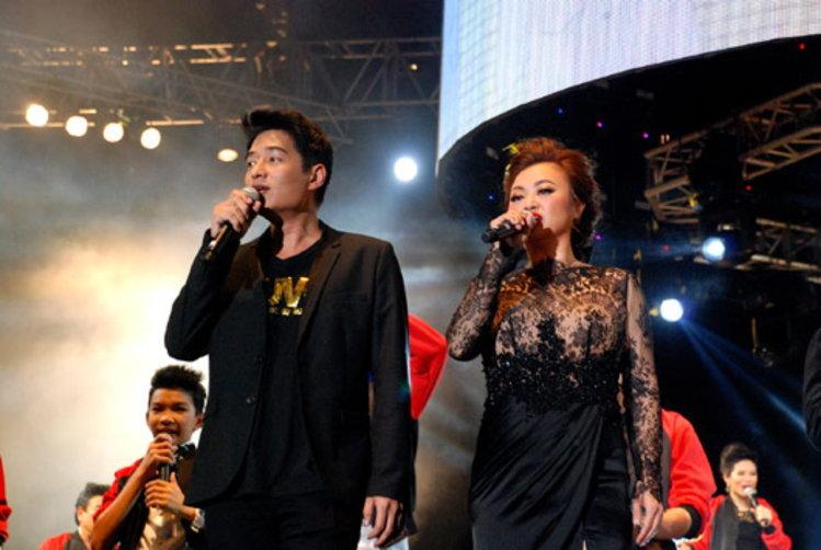เก็บตกภาพ Concert Coke Presents The Voice เสียงจริง ตัวจริง