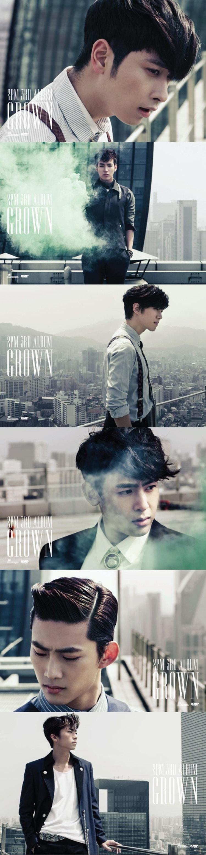 2PM ปล่อยโปสเตอร์หนุ่มมาดแมน คัมแบ็คอัลบั้ม 3 GROWN