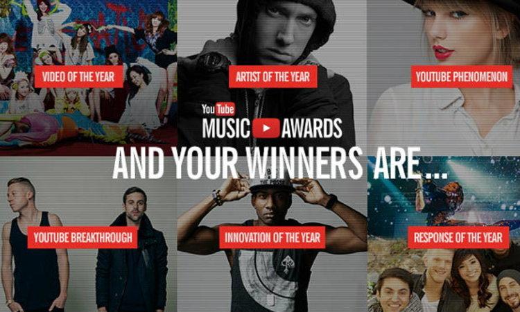 เกรียน มึน มันส์ รวมเหตุการณ์สำคัญในงาน Youtube Music Awards 2013