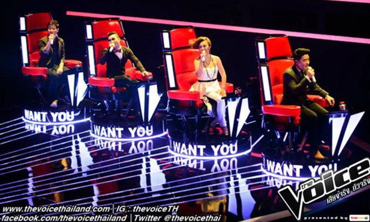 The Voice Thailand Season 2 ยังครองใจ ในโชว์ประเดิมสัปดาห์แรก