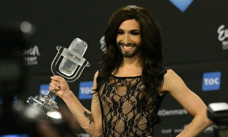 สาวมีหนวด คว้าแชมป์ Eurovision
