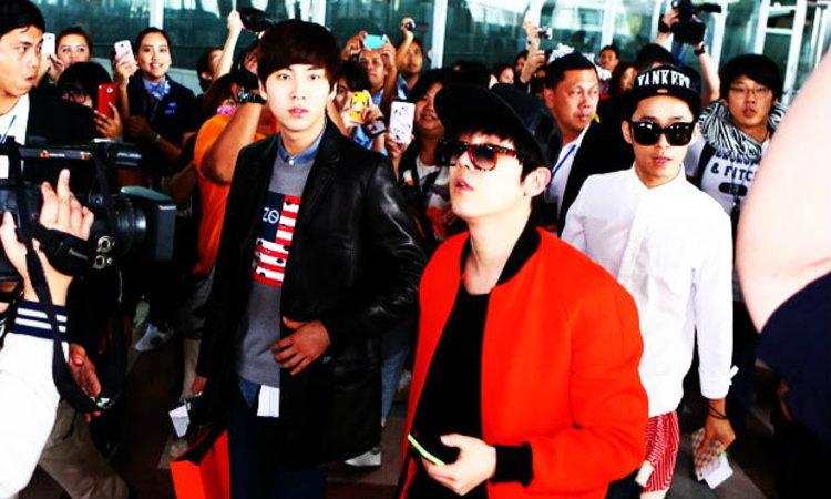 FT Island มาแล้ว! เฮลโหลชาวไทยเตรียมรับความสนุกพร้อมแฟชั่นสนามบินสุดเจ็บ