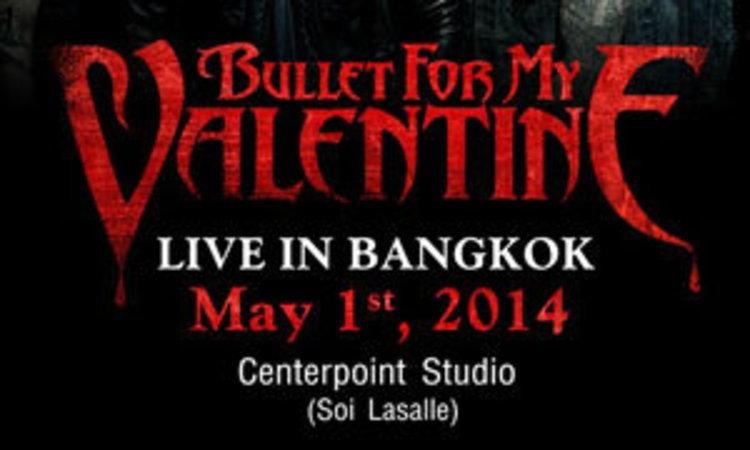 เตรียมตัวสั่นกระโหลก! กับ Bullet For My Valentine live in Bangkok