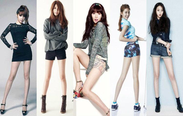 TOP 5 ไอดอล(หญิง) K-POP เรียวขาขยี้ใจ