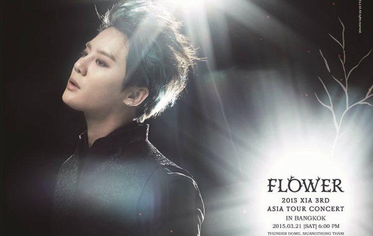 XIA 3rd  Asia Tour Concert 'Flower' in Bangkok'