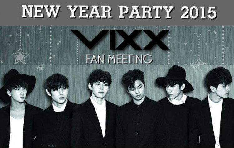 6 หนุ่ม VIXX ชวนฟิน Wish You Be My Starlight New Year Party 2015