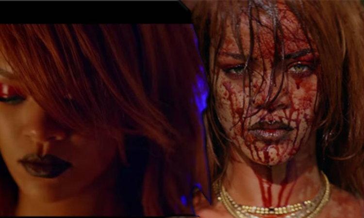 "Rihanna มาทวงตังค์เลือดสาดใน MV ""Bitch Better Have My Money"""