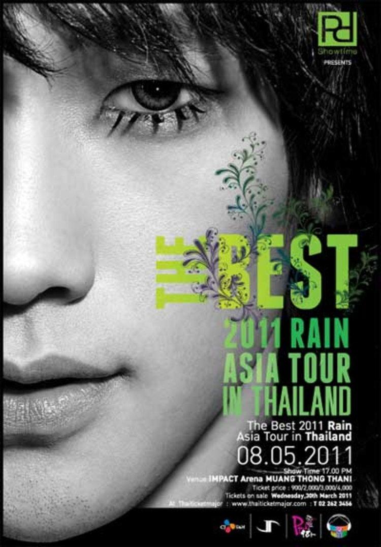ประกาศรายชื่อผู้โชคดีที่ได้รับบัตรคอนเสิร์ต The Best 2011 Rain Asia Tour in Thailand