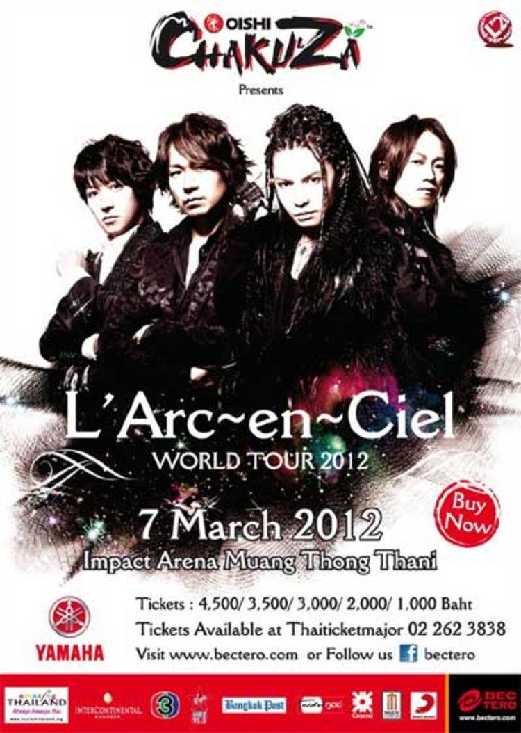 ประกาศรายชื่อผู้ที่ได้รับบัตรคอนเสิร์ต L'Arc~en~Ciel
