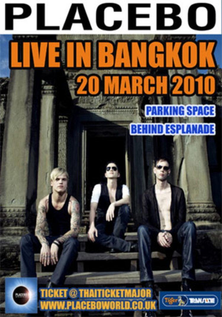 ประกาศรายชื่อผู้โชคดีที่ได้รับบัตรคอนเสริต์ PLACEBO LIVE IN BANGKOK