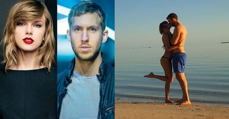 Taylor Swift ชีวิตดี๊ดี ควงแฟนหนุ่ม Calvin Harris สวีทหวานริมทะเล
