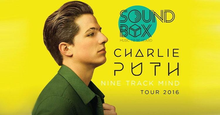 คอนเฟิร์ม! Charlie Puth Live in Bangkok 2016 เจอกันวันแม่!