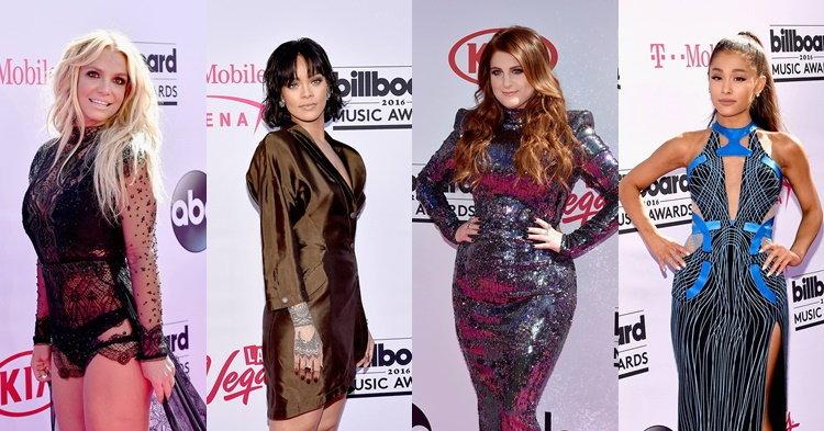 Britney Spears, Rihanna, Ariana Grande เปิดศึกพรมแดง Billboard Music Awards 2016