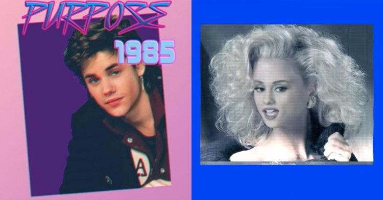 รีมิกซ์สุดเริ่ด! เมื่อเพลงฮิต Justin Bieber และ Ariana Grande กลายเป็นเพลงยุค 80s'