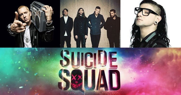Eminem, Imagine Dragons, Skrillex ยกทีมเพลงประกอบหนัง Suicide Squad