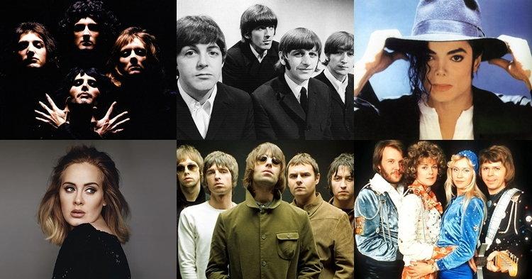 10 อัลบั้มยอดขายสูงสุดตลอดกาลใน UK