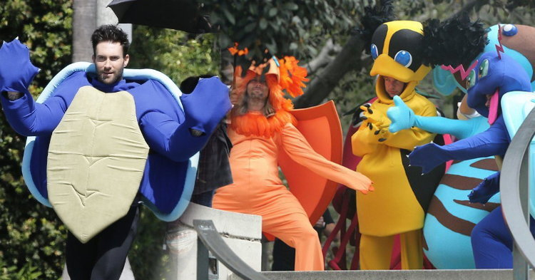 Maroon 5 น่ารักมุ้งมิ้ง กับเอ็มวีใหม่ธีม Pokémon Go!