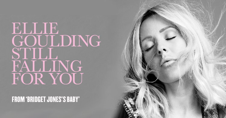 "Ellie Goulding ปล่อยเพลงใหม่ ""Still Falling For You"" ประกอบหนัง ""Bridget Jones's Baby"""