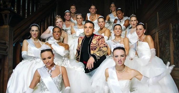 """Robbie Williams กัด """"วลาดีมีร์ ปูติน"""" สุดเจ็บ ในเอ็มวี """"Party Like A Russian"""""""