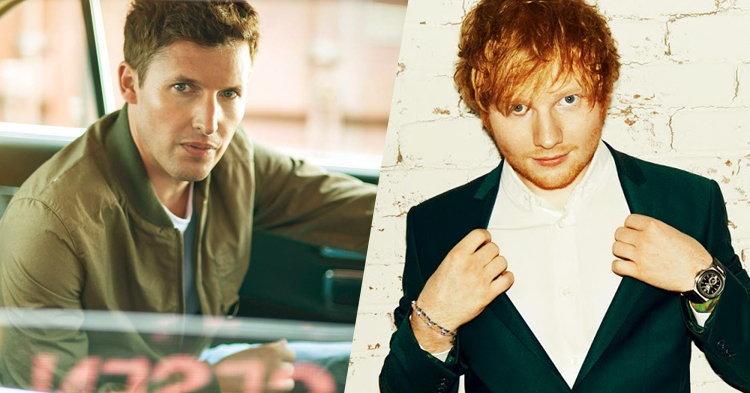 James Blunt คว้า Ed Sheeran แต่งเพลงให้ในอัลบั้มใหม่