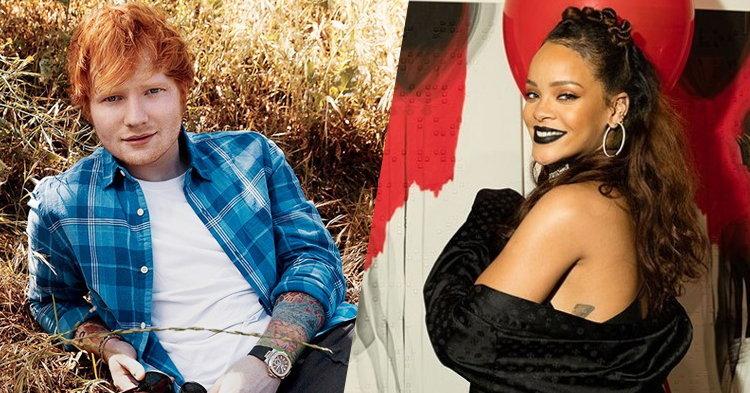 "Ed Sheeran เผย ""Shape of You"" เกือบจะเป็นเพลงของ Rihanna!"