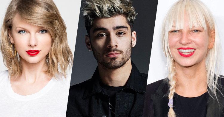 Taylor Swift, Zayn, SIA เตรียมส่งอัลบั้มเพลงประกอบ Fifty Shades Darker